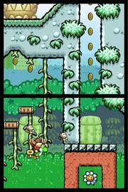 Yoshis Island DS Baby Donkey Kong Gameplay