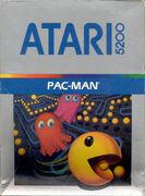 Pac-Man portada Atari 5200