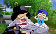 Kido y Dr. Riddles Mamodo Fury3