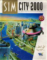 SimCity 2000 - portada DOS ESP