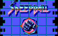 Speedball título PC