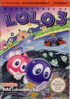Adventures of Lolo 3 - Portada EUR