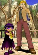 Mamodo Battles MODELS - Laila & Albert2