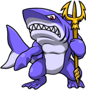 Tower Rising - Shark Man