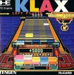 Klax PC Engine portada