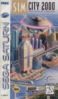 SimCity 2000 - portada Saturn USA