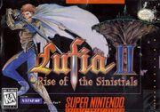 Lufia II - Rise of the Sinistrals - Portada.jpg