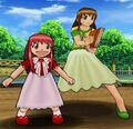 Yuujou Tag Battle tia y megumi 1