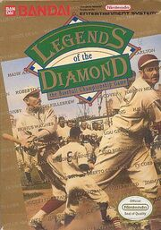 Legends of the Diamond - The Baseball Championship Game - Portada.jpg