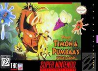Timon & Pumbaa's Jungle Games portada SNES.jpg