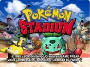 Pokémon Stadium título