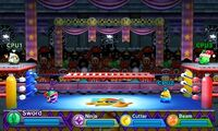 Kirby Fighters Deluxe - Dedede Arena