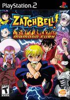 Zatch Bell! Mamodo Fury portada USA PS2