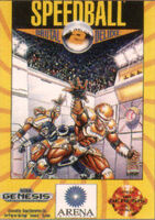 Speedball 2 portada Mega Drive USA