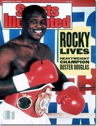 James 'Buster' Douglas en Sports Illustrated