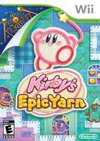 Kirby epic yarn portada