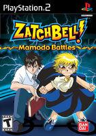 Zatch Bell! - Mamodo Battles portada GC
