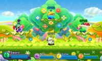 Kirby Fighters Deluxe - Flower Land