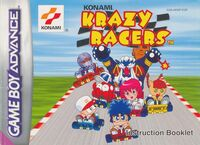 Konami Krazy Racers manual