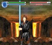 Lightsaber Battle Game