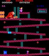 Donkey Kong - Fase 1