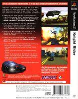 Knight Rider - The Game reverso Ale