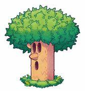 Kirby Mass Attack arte - Whispy Woods