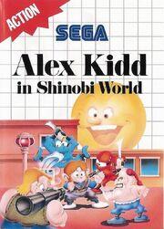Alex Kidd in Shinobi World - Portada.jpg