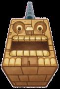 Kirby Mass Attack arte - Pesadonte