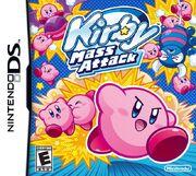 Kirby Mass Attack portada USA