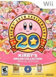 Kirby's Dream Collection portada USA