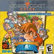 SNK vs. Capcom - Card Fighter's Clash - Capcom Version - Portada.jpg