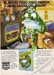 Frogger Ad Parker Brothers 3
