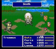 Final Fantasy V - Magia Muerte