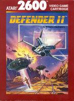 Defender II Atari 2600 portada EUR