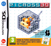 Picross 3D - portada EUR