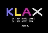 Klax Atari 7800 captura1