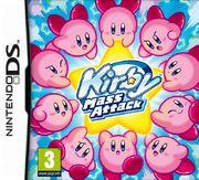 Kirby Mass Attack portada EUR