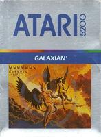 Galaxian Atari 5200 portada