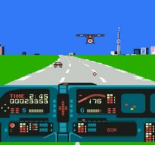 Knight Rider NES captura1.png