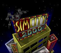 SimCity 2000 - SNES - título