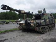 M109A5 in repair