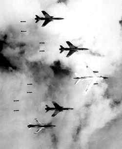 Bombing in Vietnam