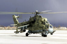 Mi-24 Desert Rescue