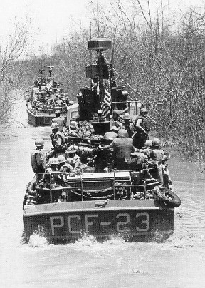 File:Fast Patrol Crafts operating up a river 2.jpg