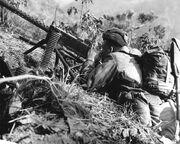US ARMY M1919A4 Korea, 1953