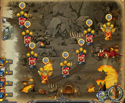 Dragon Fury's Volcano