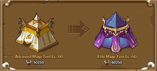 Elite Mage tent