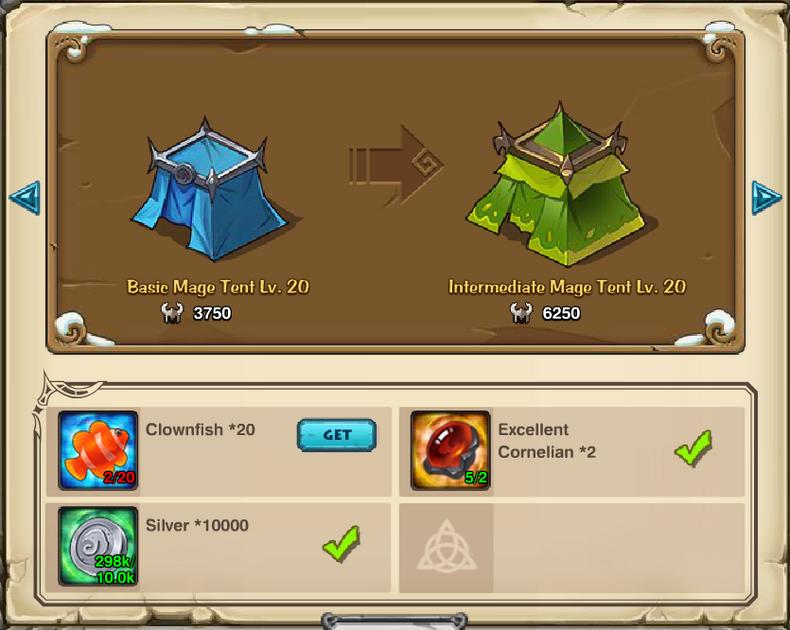 Basic Mage Tent Enhancement