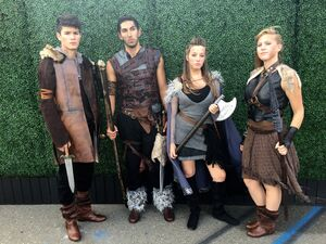 SDCC 2015 Vikings and Shield Maidens 001